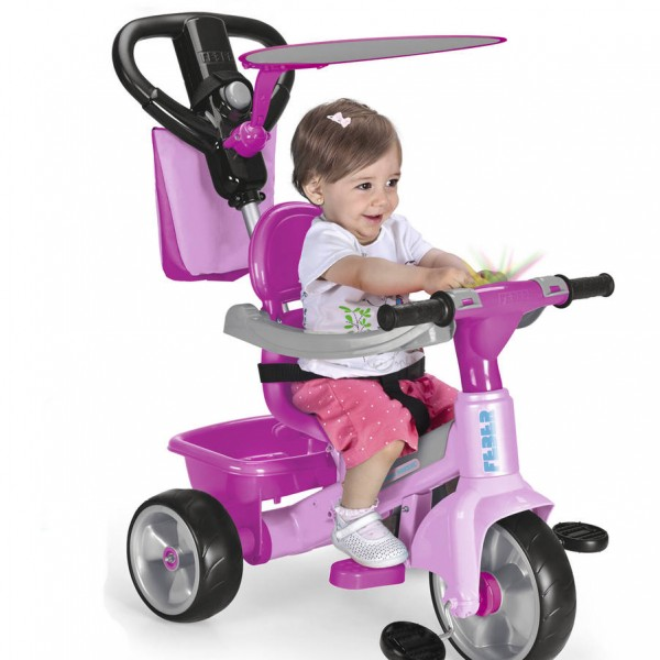 TRIKE BABY PLUS MUSIC ROSE