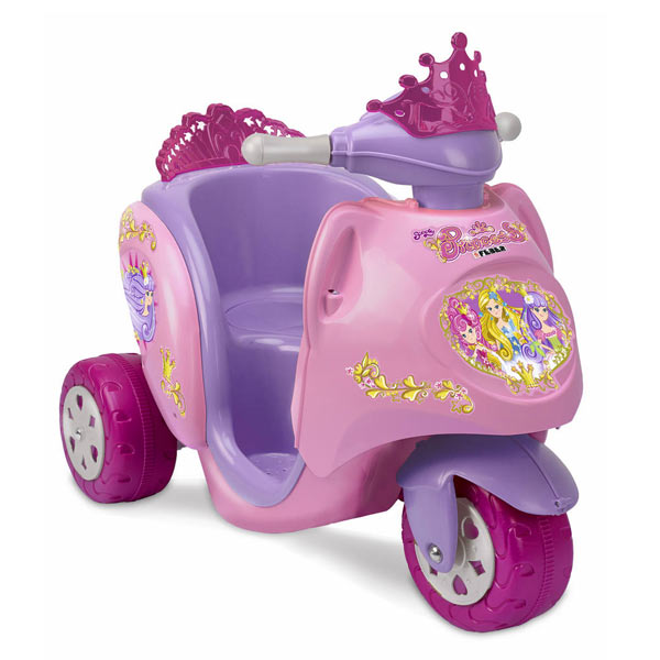 SCOOTY PRINCESSES DISNEY 6V