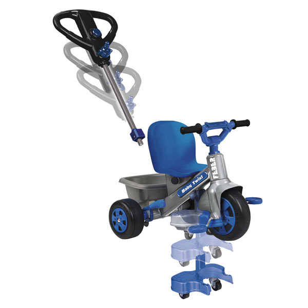 TRICYCLE EVOLUTIF BABY TWIST 360º BLEU