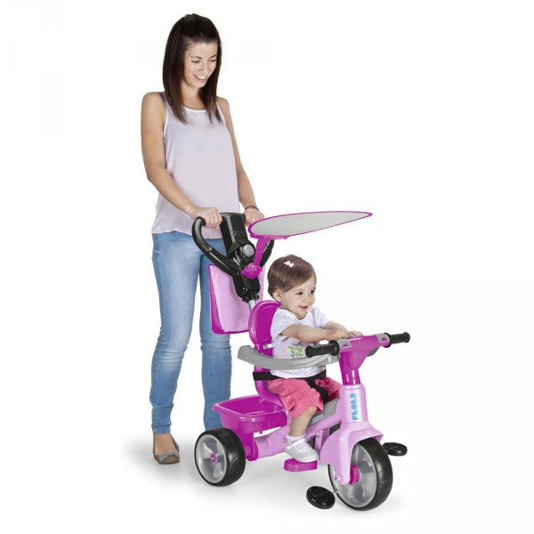 Trike Baby Plus Music Pink