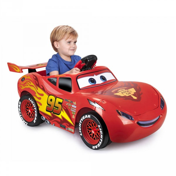 Cars Lightning McQueen 6V Light & Sounds Cars 3