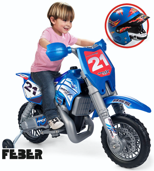 FEBER CROSS X 6V +CASCO