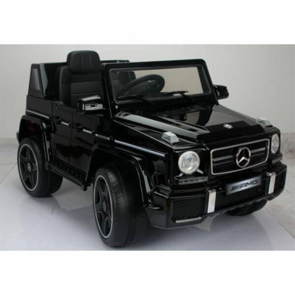 Feber Mercedes G63 Negra 12V + RC