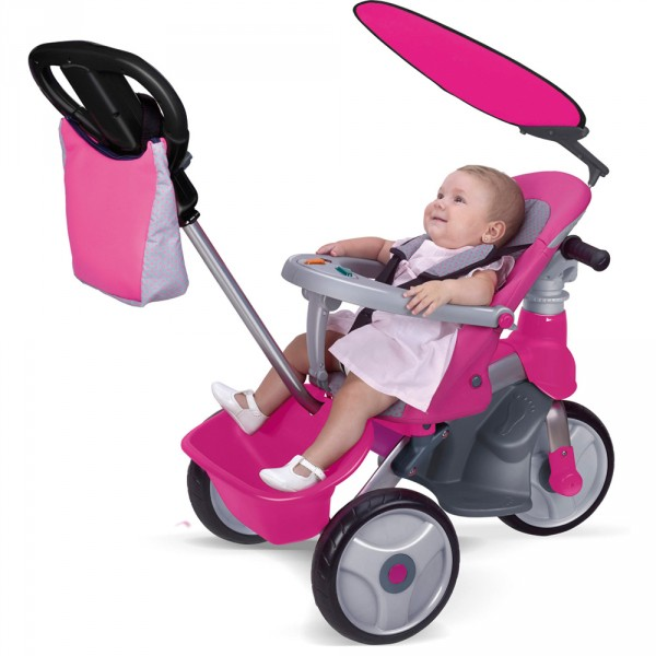 Triciclo Easy Evolution Rosa