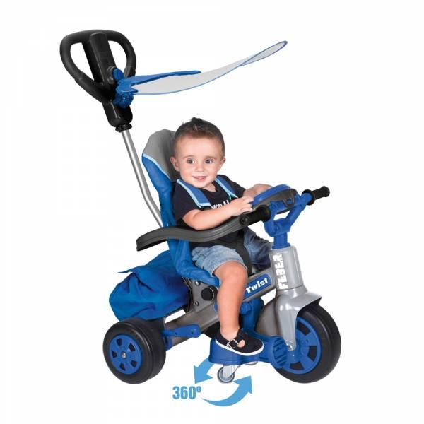 Triciclo Baby Twist Azul