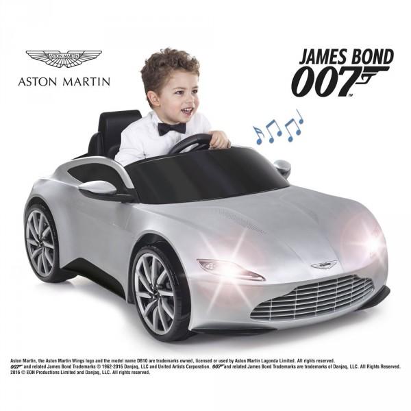 007 Aston Martin 6V Luzes & Som