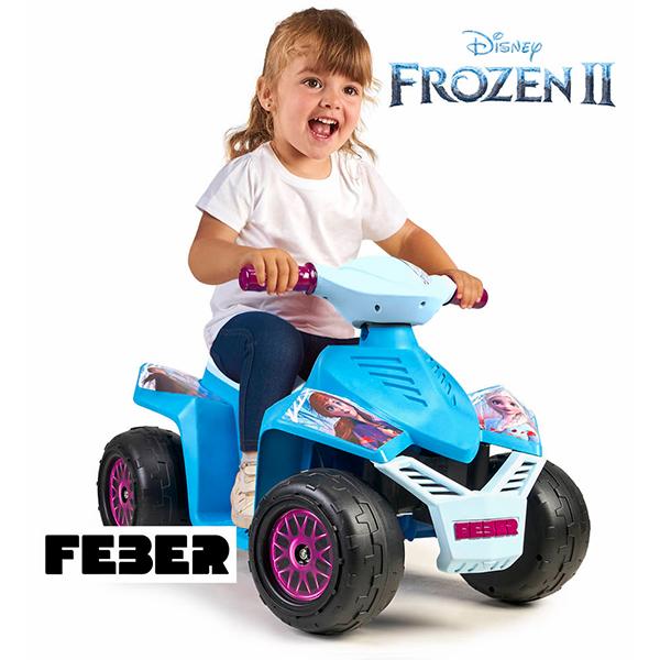 Quad Racy Frozen 2 6V