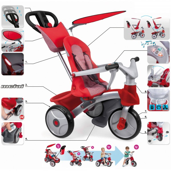 BABY EVOLUTION EASY TRIKE