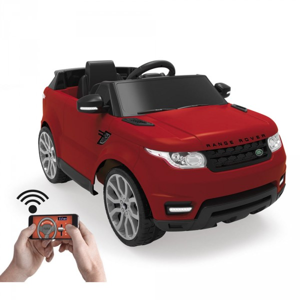 RANGE ROVER  6V with RC Red