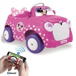 MINNIE CAR WITH APP CONTROLLED REMOTE CONTROL