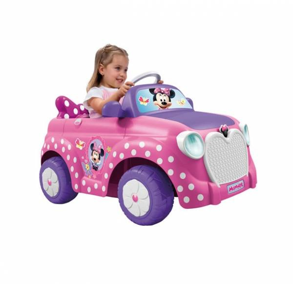 Minnie Car 6v Coches De Juguete Feber