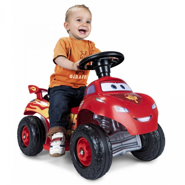 Quad Cars Lightning McQueen 6V